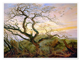Premium poster  The Tree of Crows - Caspar David Friedrich