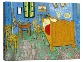 Canvas  Van Gogh's Bedroom at Arles - Vincent van Gogh