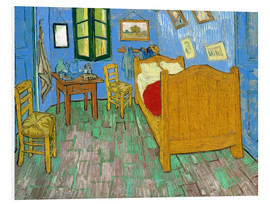 Foam board print  Van Gogh's Bedroom at Arles - Vincent van Gogh