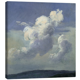 Canvas print  Cloud Study - Johan Christian Clausen Dahl