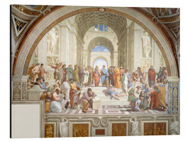 Aluminium print  The School of Athens - Raffael