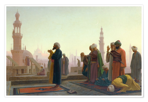 Premium poster The prayers