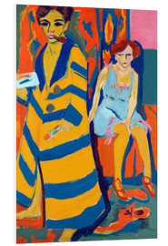 Forex  Ernst Ludwig Kirchner with a Model - Ernst Ludwig Kirchner