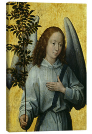 Canvas print  Angel Holding an Olive Branch - Hans Memling