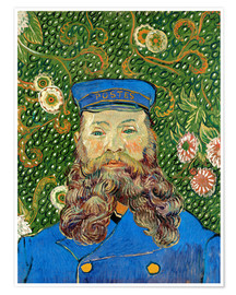 Premium poster  Portrait of the Postman Joseph Roulin - Vincent van Gogh