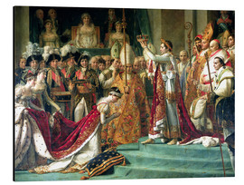 Aluminium print  The Consecration of the Emperor Napoleon and the Coronation of the Empress Jose (detail) - Jacques-Louis David