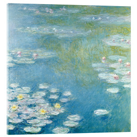 Acrylic glass  Nympheas at Giverny - Claude Monet