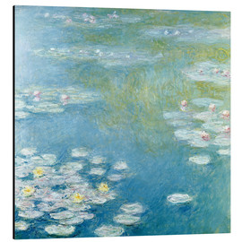 Alu-Dibond  Nympheas at Giverny - Claude Monet
