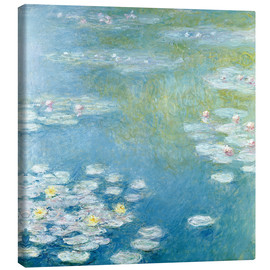 Canvas  Nympheas at Giverny - Claude Monet