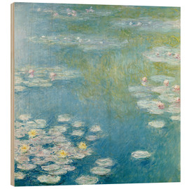 Wood  Nympheas at Giverny - Claude Monet
