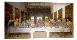 Acrylic print  The Last Supper - Leonardo da Vinci