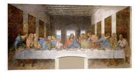 Foam board print  The Last Supper - Leonardo da Vinci