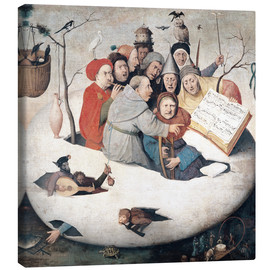 Canvas print  The Concert in the Egg - Hieronymus Bosch