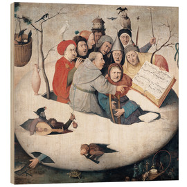 Wood  The Concert in the Egg - Hieronymus Bosch