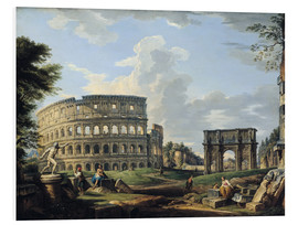 Forex  The Colosseum and the Arch of Constantine - Giovanni Paolo Pannini