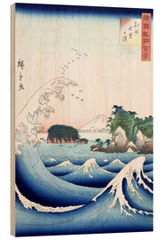 Wood print  The wave - Utagawa Hiroshige
