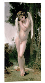 Acrylic print  Cupid - William Adolphe Bouguereau