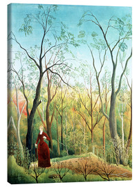 Canvas print  The walk in the forest - Henri Rousseau