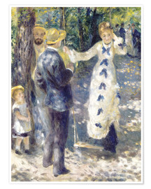 Premium poster  The Swing - Pierre-Auguste Renoir