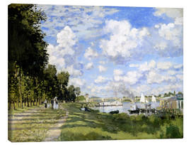 Canvas print  The Marina at Argenteuil - Claude Monet