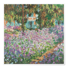 Premium poster The Artist's Garden at Giverny