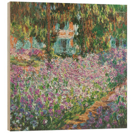Wood  The Artist's Garden at Giverny - Claude Monet