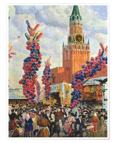 Premium poster Easter Market at the Moscow Kremlin
