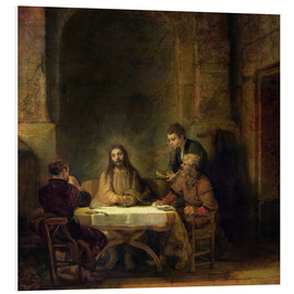 Rembrandt van Rijn - The Supper at Emmaus