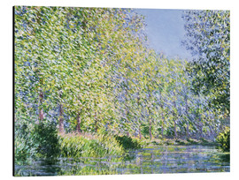 Aluminium print  Bend in the Epte River near Giverny - Claude Monet