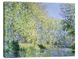 Canvas print  Bend the Epte near Giverny - Claude Monet