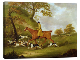 Canvas  Huntsman and Hounds - John Nott Sartorius