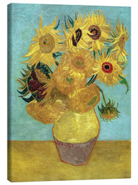 Canvas  Sunflowers - Vincent van Gogh