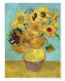Poster  Sunflowers - Vincent van Gogh