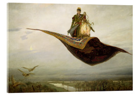 Acrylic print  The magic carpet - Apollinari Mikhailovich Vasnetsov