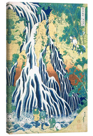 Canvas print  Kirifuri Fall on Kurokami Mountain - Katsushika Hokusai