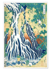 Premium poster Kirifuri Fall on Kurokami Mountain