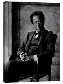 Canvas  Gustav Mahler - Austrian Photographer