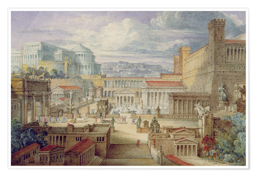 Premium poster A Scene in Ancient Rome