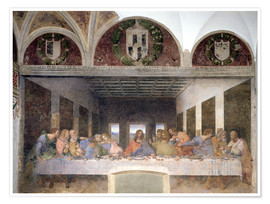Premium poster  The Last Supper - Leonardo da Vinci
