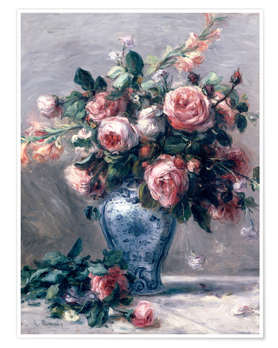 Poster Vase of Roses
