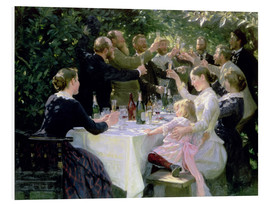 Peder Severin Kroyer - Hip Hip Hurrah! Artists' Party at Skagen