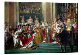 Acrylic print  The Consecration of the Emperor Napoleon - Jacques-Louis David