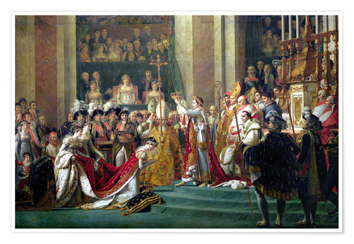 Poster The Consecration of the Emperor Napoleon