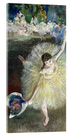 Acrylic print  End of an Arabesque - Edgar Degas