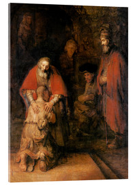 Acrylic print  Return of the Prodigal Son - Rembrandt van Rijn
