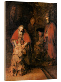 Wood  Return of the Prodigal Son - Rembrandt van Rijn