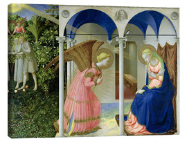 Canvas print  The Annunciation - Fra Angelico