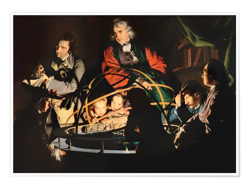 Premium poster The Orrery