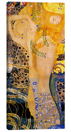 Canvas  Water Serpents I - Gustav Klimt