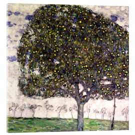 Acrylic print  The Apple Tree II - Gustav Klimt